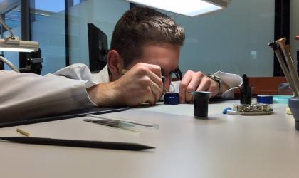 IWC Event: watchmaker course for watch-aficionados