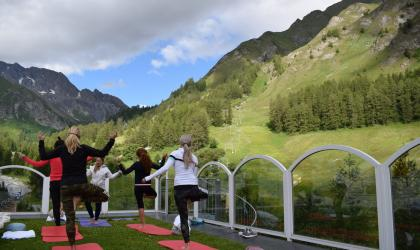 Yoga week at Chasa Montana Hotel & Spa