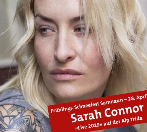 Sarah Connor on April 28, 2019 in Samnaun